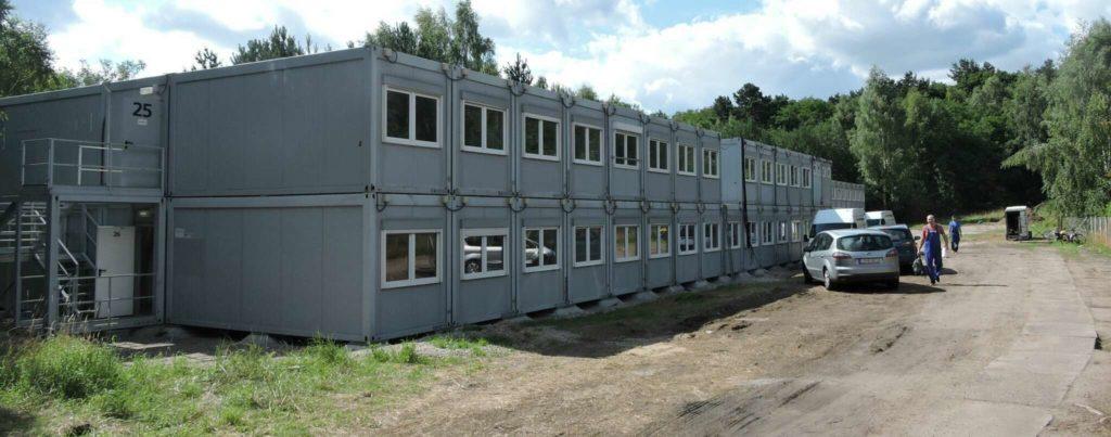 Neue Unterkünfte für Flüchtlinge in Potsdam Mittelmark