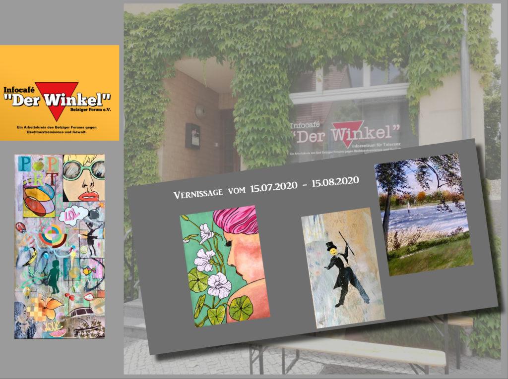 Sommer-Vernissage im Infocafé